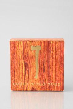 The Cedar Wood Soap