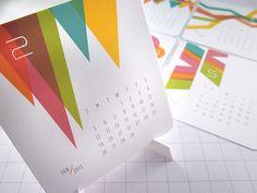 60 Unique 2013 Calendar Designs