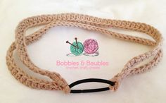 Easy Versatile 10 Minute Headband - Bobbles and Baubles~k8~