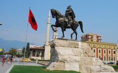 Tirana-Gjergj Kastriot Skenderbeu