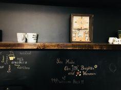 #chalkboard #coffee bar#familylove
