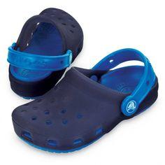 f956a99f0f0 Crocs - Translucent Clog Kids Navy-Sea Blue (11242-41A)