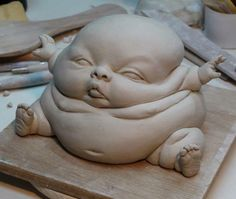 Image result for baby ceramics sculpture