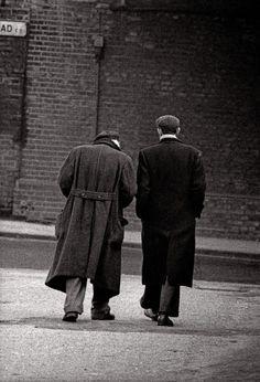 "John Claridge, Two Friends, (1968) - ""They were walking along sharing one piece of bread."""