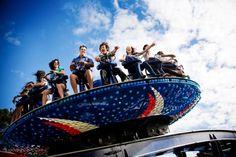 Auckland - Rainbow's End, New Zealand's biggest theme park