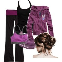 A fashion look from September 2010 featuring graphic hoodie, adidas tank and sexy activewear. Browse and shop related looks. Cute Workout Outfits, Workout Attire, Sporty Outfits, Athletic Outfits, Classy Outfits, Cute Outfits, Athletic Clothes, Athletic Wear, Workout Wear