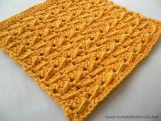 Knock Knees Crochet Dishcloth