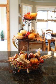 süßigkeiten ständer ideen für herbst dekoration küchen interieur