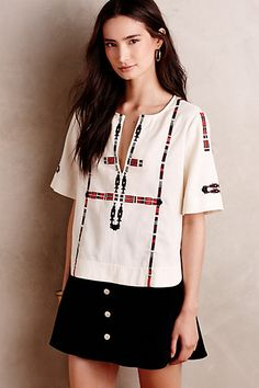 Anatalia Top #anthropologie