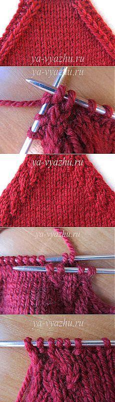 ДЕКОРАТИВНЫЕ УБАВЛЕНИЯ ПО ЛИНИИ РЕГЛАНА. [] # # #Cable, # #Stitches, # #Weave, # #Knitting, # #Of #Agujas, # #Tissues