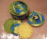 Barbaras Hooks, Eyes and Needles: Butterfly Facial Scrubbie Gift Set