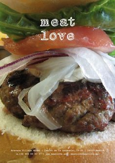 meat love | hamburguesas gourmet de textura esponjosa, sabrosa e inconfundible, acompañadas con los mejores productos: ¡una combinación de sabores, texturas… equilibrada y perfecta!
