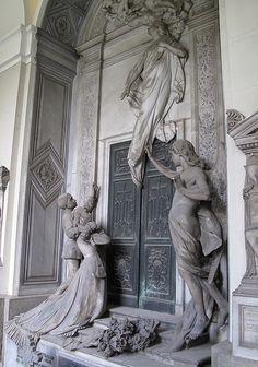 Staglieno Cemetery, Genoa, Italy by johnshaun, via Flickr