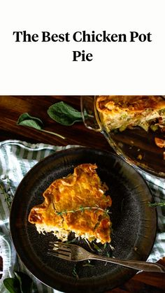 Pie Recipes, Yummy Recipes, Chicken Recipes, Cooking Recipes, New Easy Recipe, Best Chicken Pot Pie, New Recipes For Dinner, Savoury Pies, Crock Pot Slow Cooker