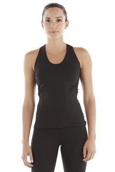 Michi Amp Tank Black | Women's Activewear