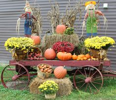 Image Result For Autumn Pictures With Pumpkins And Wagons Fall