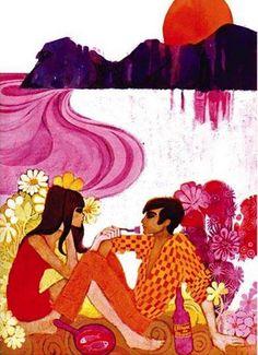 http://newenglandwoodstock.tumblr.com/post/73559389141/greatbliss-1968-french-magazine-illustration