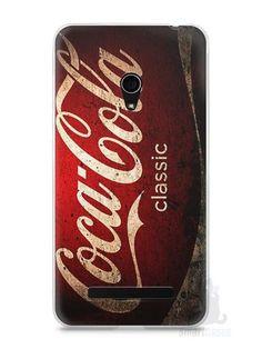 Capa Zenfone 5 Coca-Cola Classic