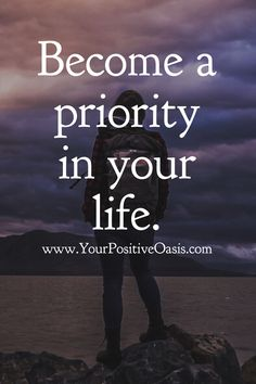 Become a priority in your life. Great Quotes, Quotes To Live By, Me Quotes, Motivational Quotes, Inspirational Quotes, New Life Quotes, Queen Quotes, Positive Affirmations, Positive Quotes