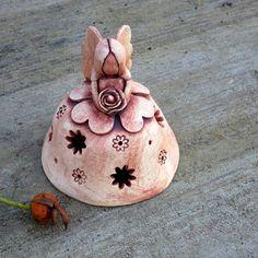 Květinová víla / Zboží prodejce ZARIA   Fler.cz Clay Angel, Pottery Angels, Pottery Handbuilding, Pottery Classes, Craft Markets, Clay Ornaments, Sculpture Clay, Air Dry Clay, Handmade Decorations