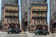 Lightroom 5 Features: Using the Upright Tool. This is an awesome feature!