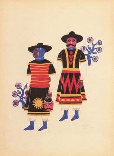 Carlos Mérida (1891 – 1984) was a Guatemalan artist who was one of the first to fuse European modern painting to Latin American themes, especially those related to Guatemala and Mexico.