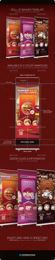 Best Restaurant - Banner Template - Signage Print Templates