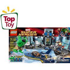 LEGO Marvel Super Heroes Hulk's Helicarrier Breakout Play Set
