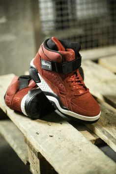 #Ewing Focus Red Suede #sneakers