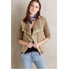 I just added this to my closet on Poshmark: Anthropologie Marrakech Olive Cypress Moto Jacket. Price: $128 Size: XS
