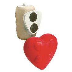 Stimulator Panty Pal Heart in forma de inima, cu vibratii si magnet pentru fixare