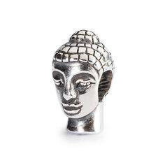 Head of Buddha bead in silver | Trollbeads Eastern Meets Nordic | 2014 Autumn Collection | www.trollbeads.com | #trollbeads #eastern #nordic #autumncollection