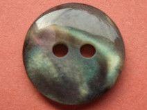 10 kleine Knöpfe dunkelbraun 12mm (4001-5) Knopf