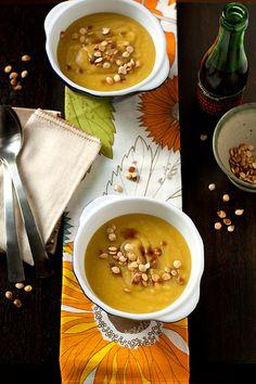 Leek, Potato & Delicata Squash Soup