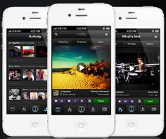 Viddy is one such tool.  It's a relatively new social network centered on creating and sharing 15-second video clips.