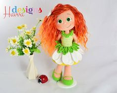 PATTERN Daisy Doll by HavvaDesigns on Etsy