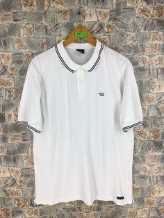 db6a5c61f Vintage 90s KEITH HARING Polo Shirt XLarge Mens K.Haring Dog Bark Pop Art  Artwork Palladium Andy Warhol Graffiti White Polos Shirt Size XL