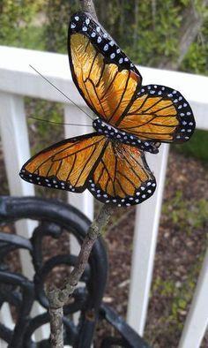 Plastic Bottle Butterflies