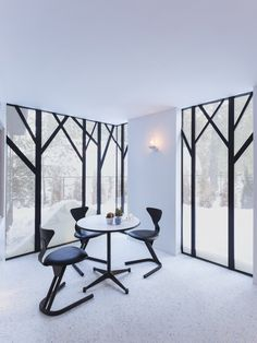 Lake Cottage by UUfie - these windows take my breath away - adore them!