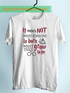 Deathly Hallows T Shirts Unicorn Shirts Unisex Harry Fairy Novel Funny Gift Tees