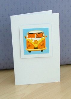Orange VW Card | Flickr - Photo Sharing!