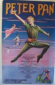 Peter Pan on Broadway w/ Sandy Duncan -- I saw this many moons ago!! :)