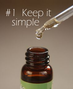 5 creative ways to take your flower remedies #1 Keep it simple