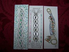 Zentangle Bookmarks #1 | Flickr - Photo Sharing!