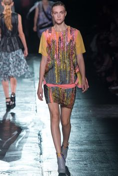 Prabal Gurung Spring 2015 Ready-to-Wear Fashion Show - Hedvig Palm