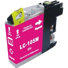 Brother LC105M Super High Yield magenta ink cartridge