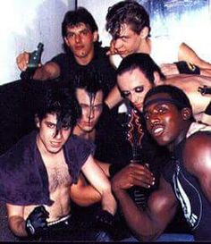 Pepe (roadie), EV, Jerry Only, Clayton Barker (a friend), GD, and Doyle