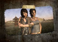 Lara and Sam // Tomb Raider 2013 Tom Raider, Tomb Raider 2013, Lara Croft 2013, Laura Croft, Tomb Raider Lara Croft, Rise Of The Tomb, Extreme Metal, Girl Couple, Life Is Strange