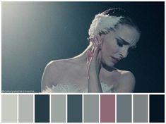"""The Black Swan"" Darren Aronofsky 2010 Black Swan Movie, Black Swan 2010, Movie Color Palette, Colour Pallette, Vampire Weekend, Color In Film, Cinema Colours, Color Script, Movies And Series"