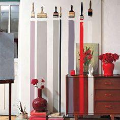 1000 id es sur le th me bandes de peinture sur pinterest murs ray s peindre des rayures. Black Bedroom Furniture Sets. Home Design Ideas